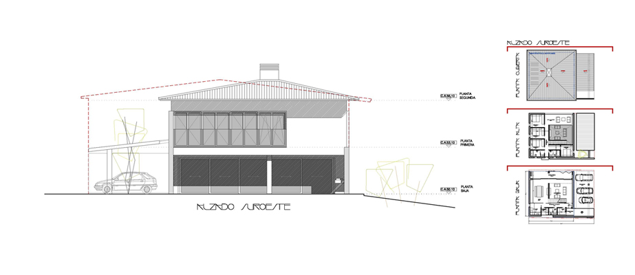 Caser o atutx goikoa atelier80 estudio de arquitectura - Estudios de arquitectura en bilbao ...